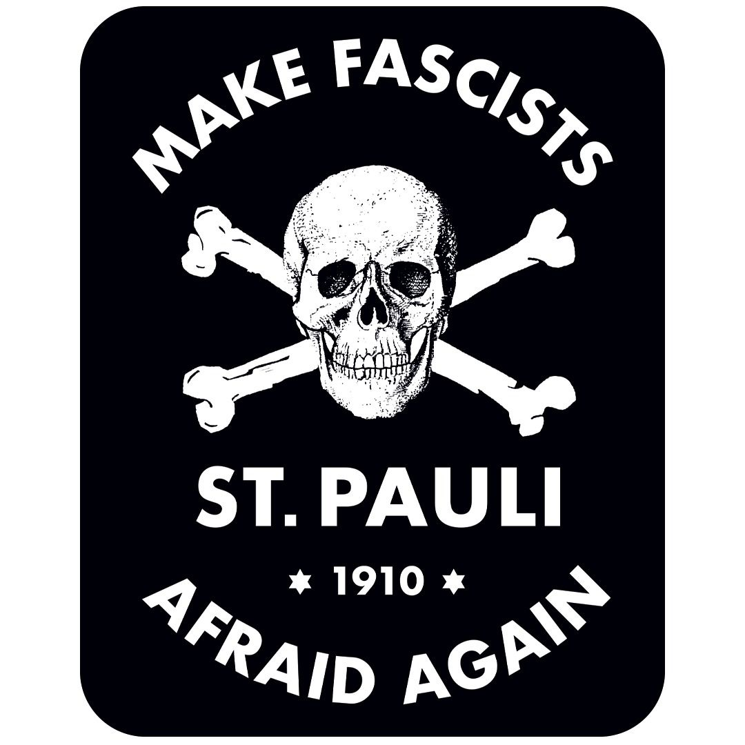 St. Pauli - Make Fascists Afraid [Adesivo]