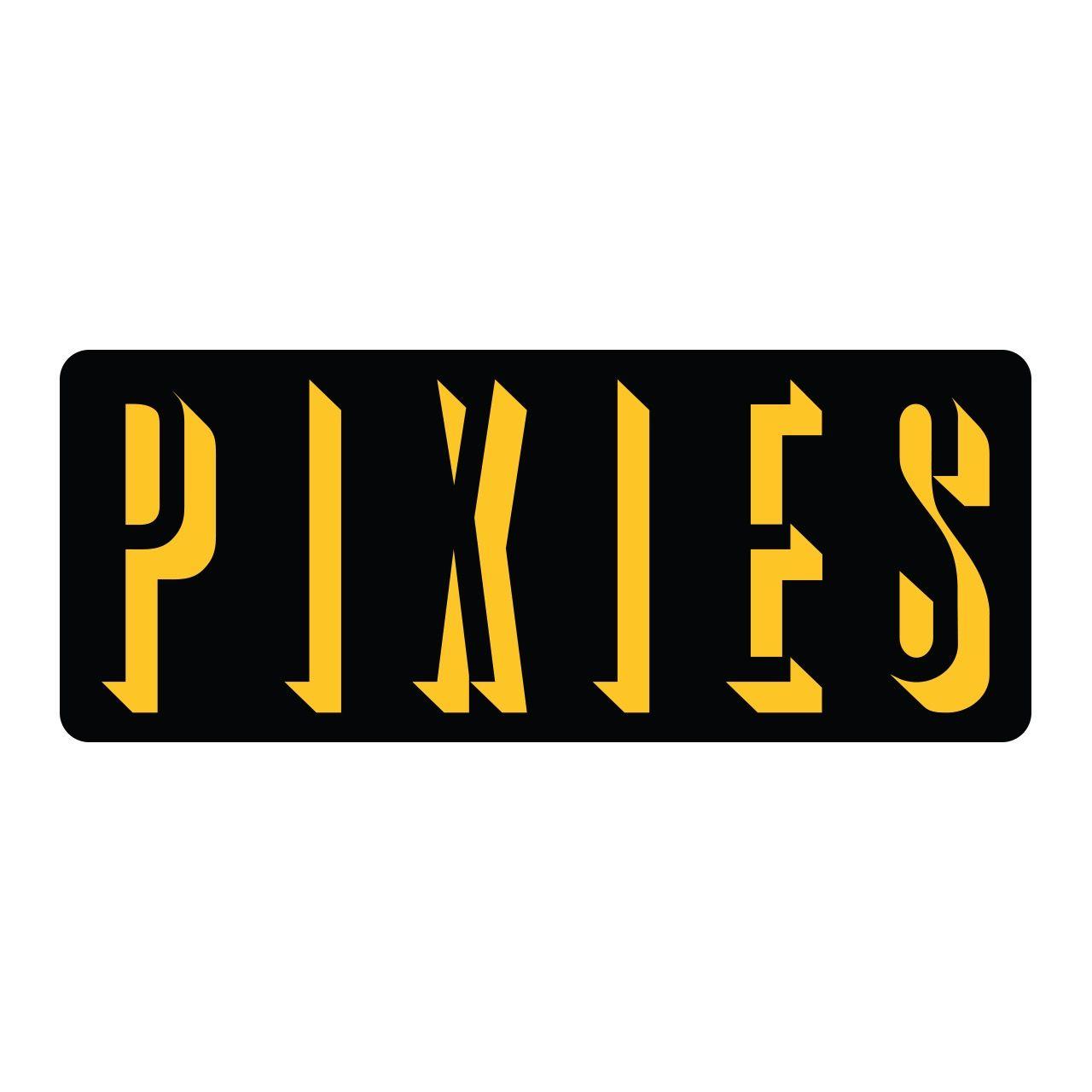 Pixies - Logo [Amarelo]