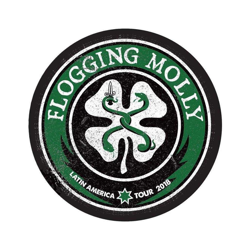 Flogging Molly - Latin America 2018 [Adesivo]
