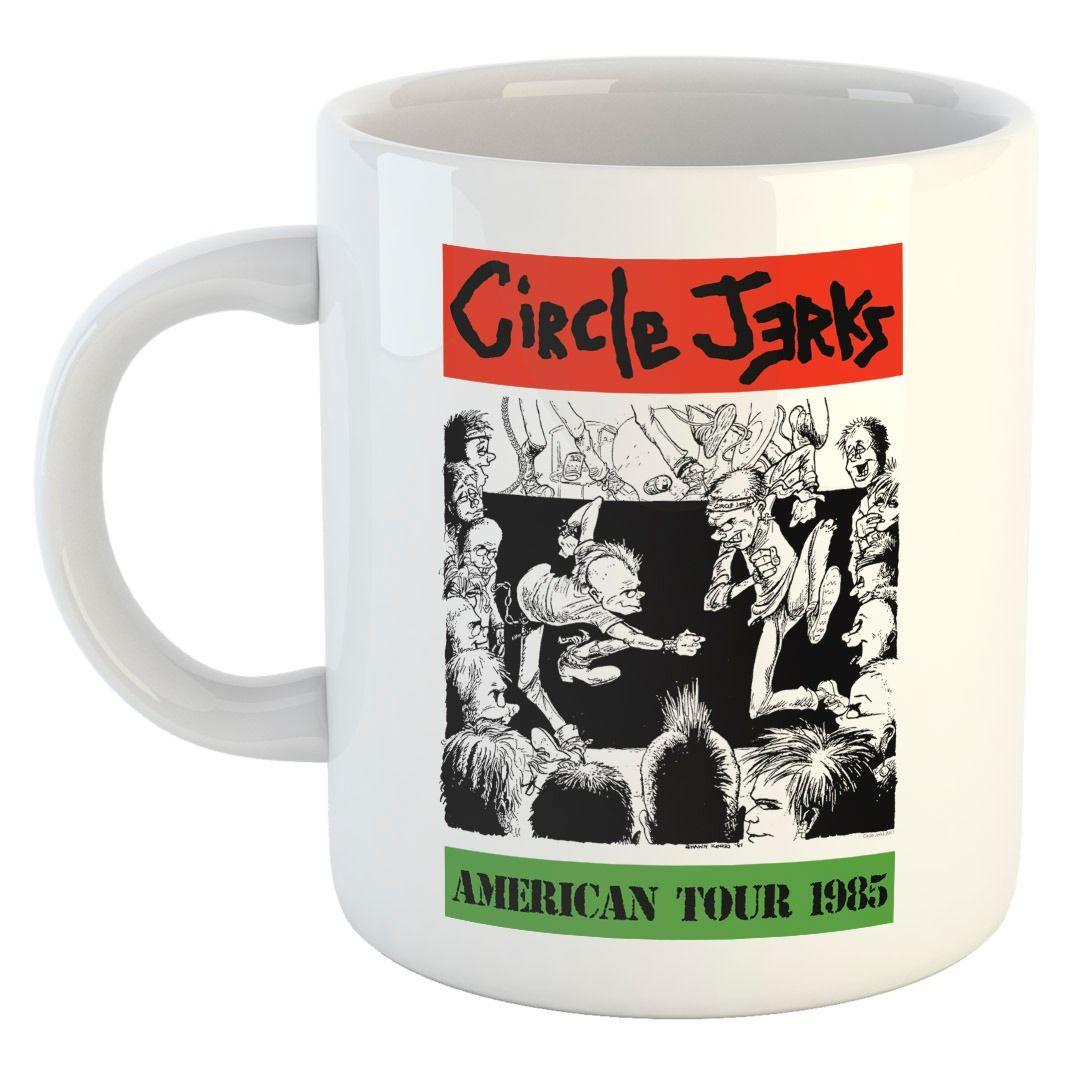 Circle Jerks - American Tour 85 [Caneca]
