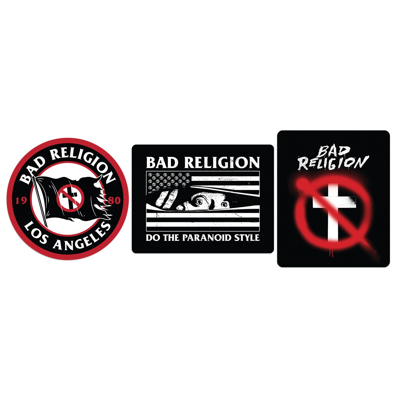 Bad Religion - Sticker Pack Tour 2019 [Adesivos]