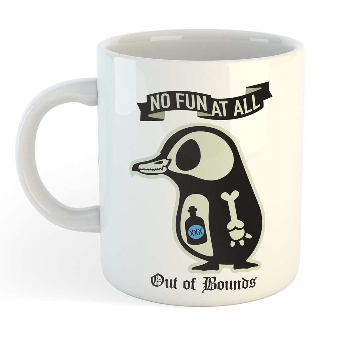 No Fun At All - Out Of Bounds [Caneca]