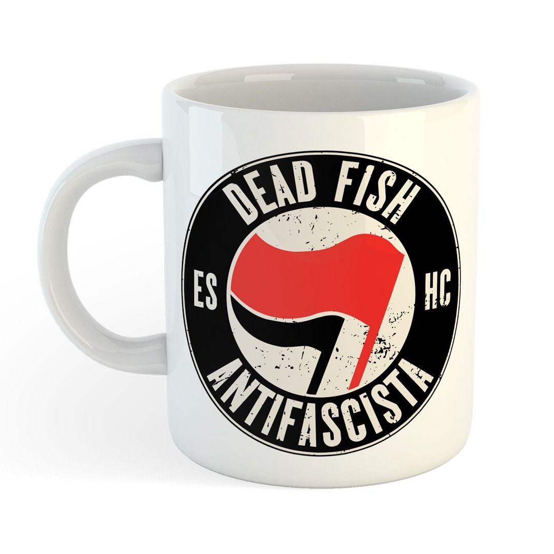 Dead Fish - Antifa [Caneca]