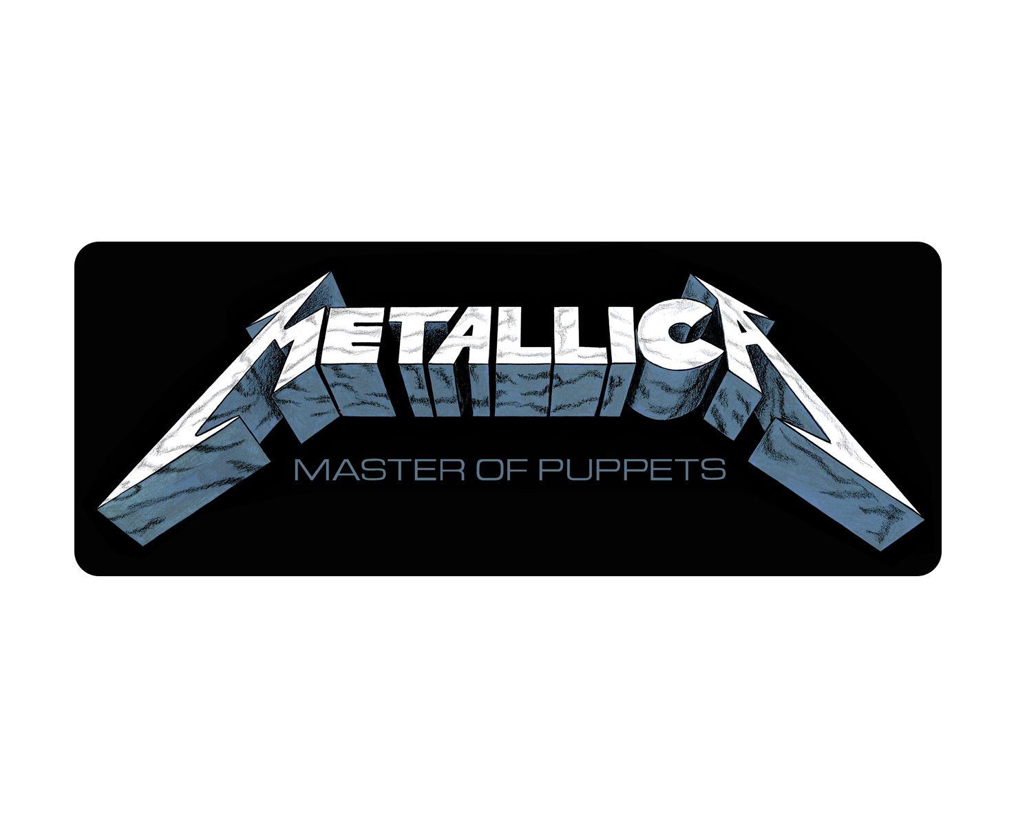 Metallica - Master Of Puppets [Adesivo]