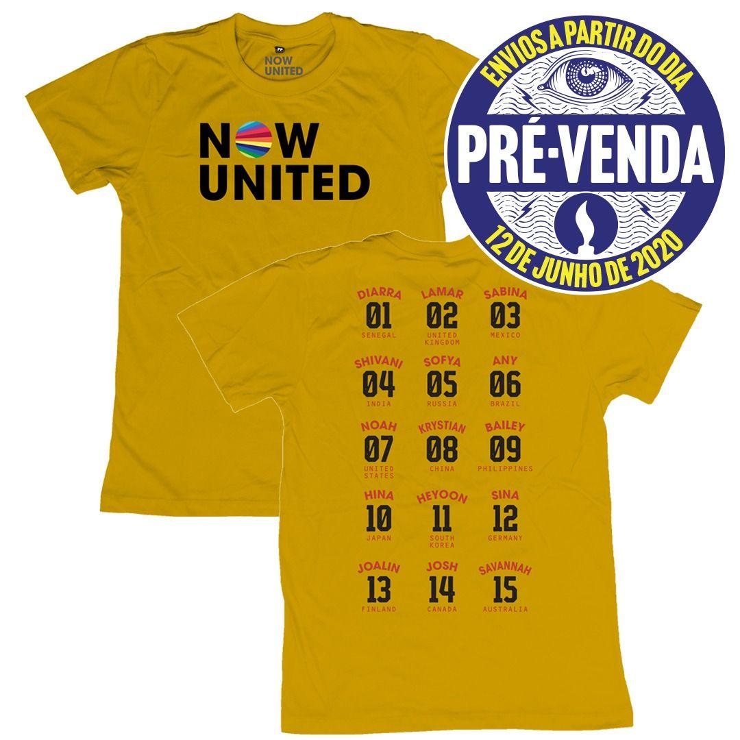 Now United - Classic Logo [Camiseta Amarela] [Pré-Venda]