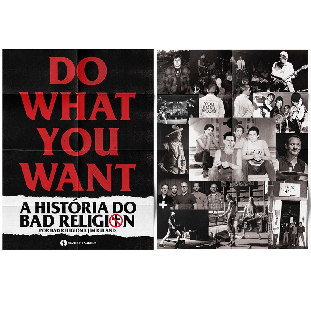 Bad Religion - Do What You Want [Pôster s/ Tubo]
