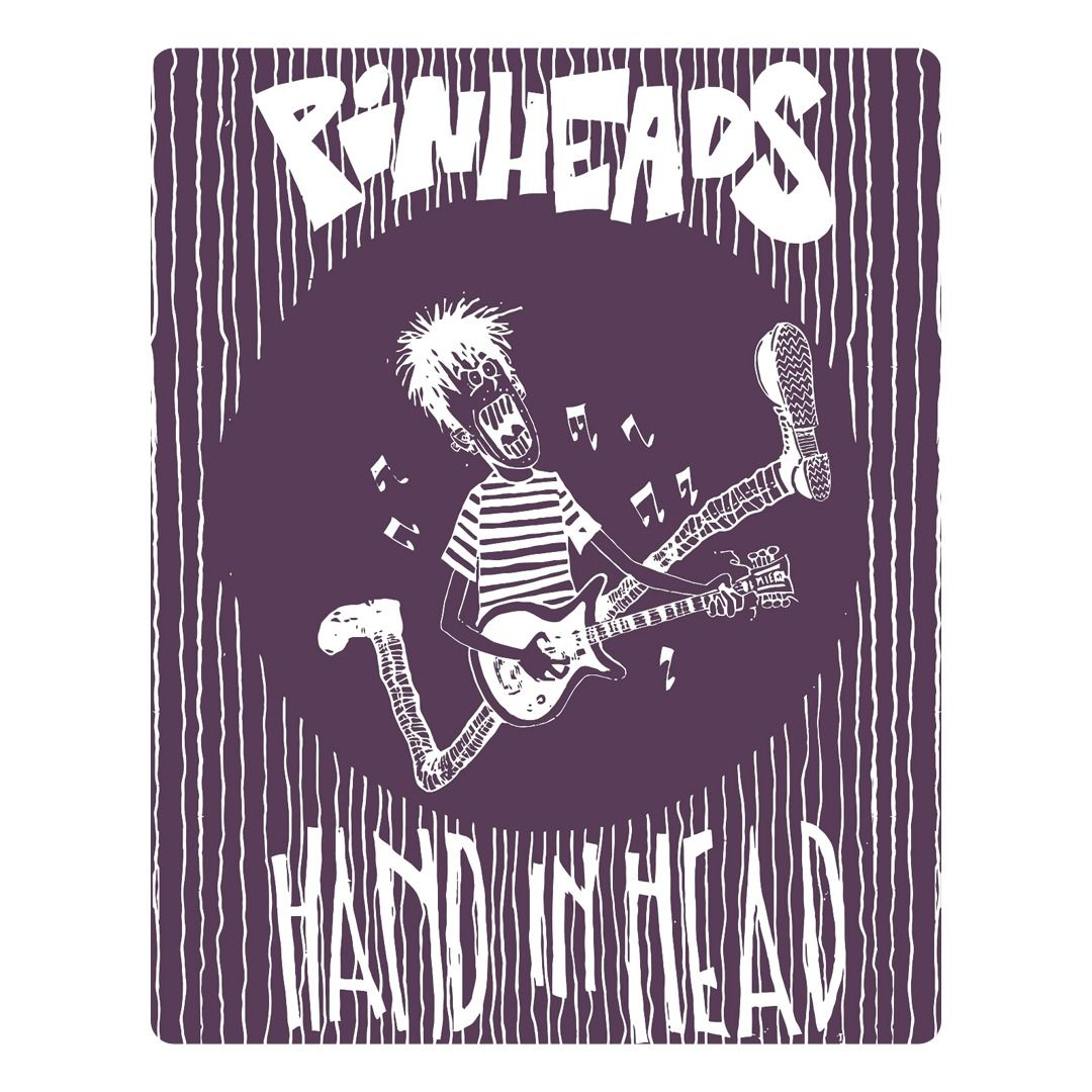 Pinheads - Hand In Head [Adesivo]