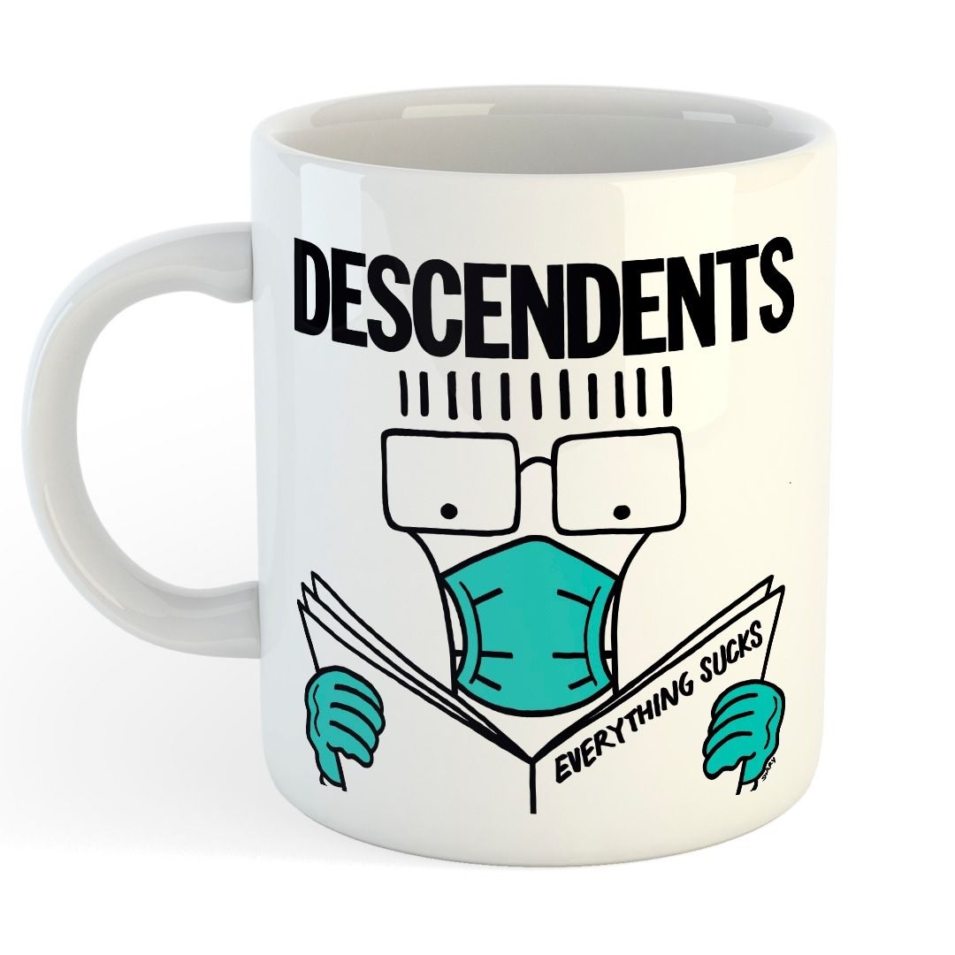 Descendents - Everything Sucks Face Mask [Caneca]
