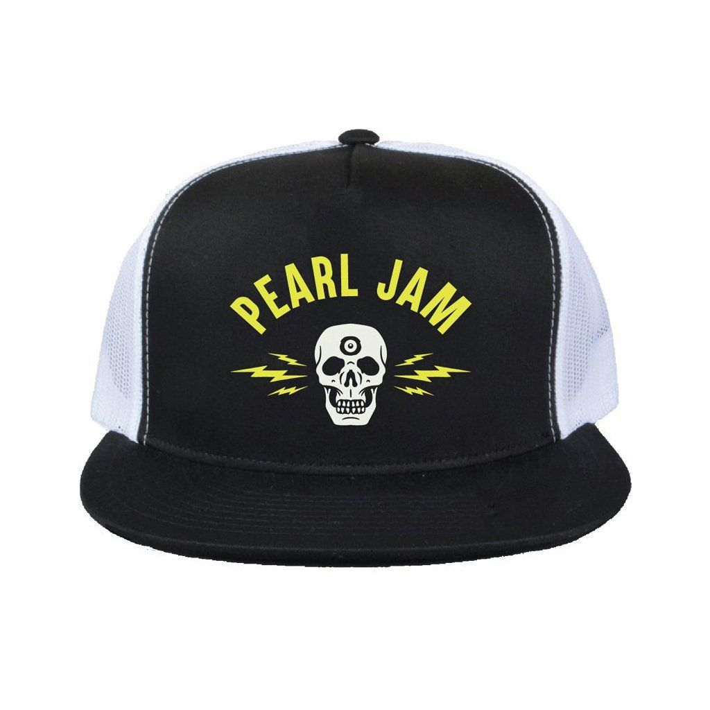 Pearl Jam - Electric Skull [Boné Trucker]