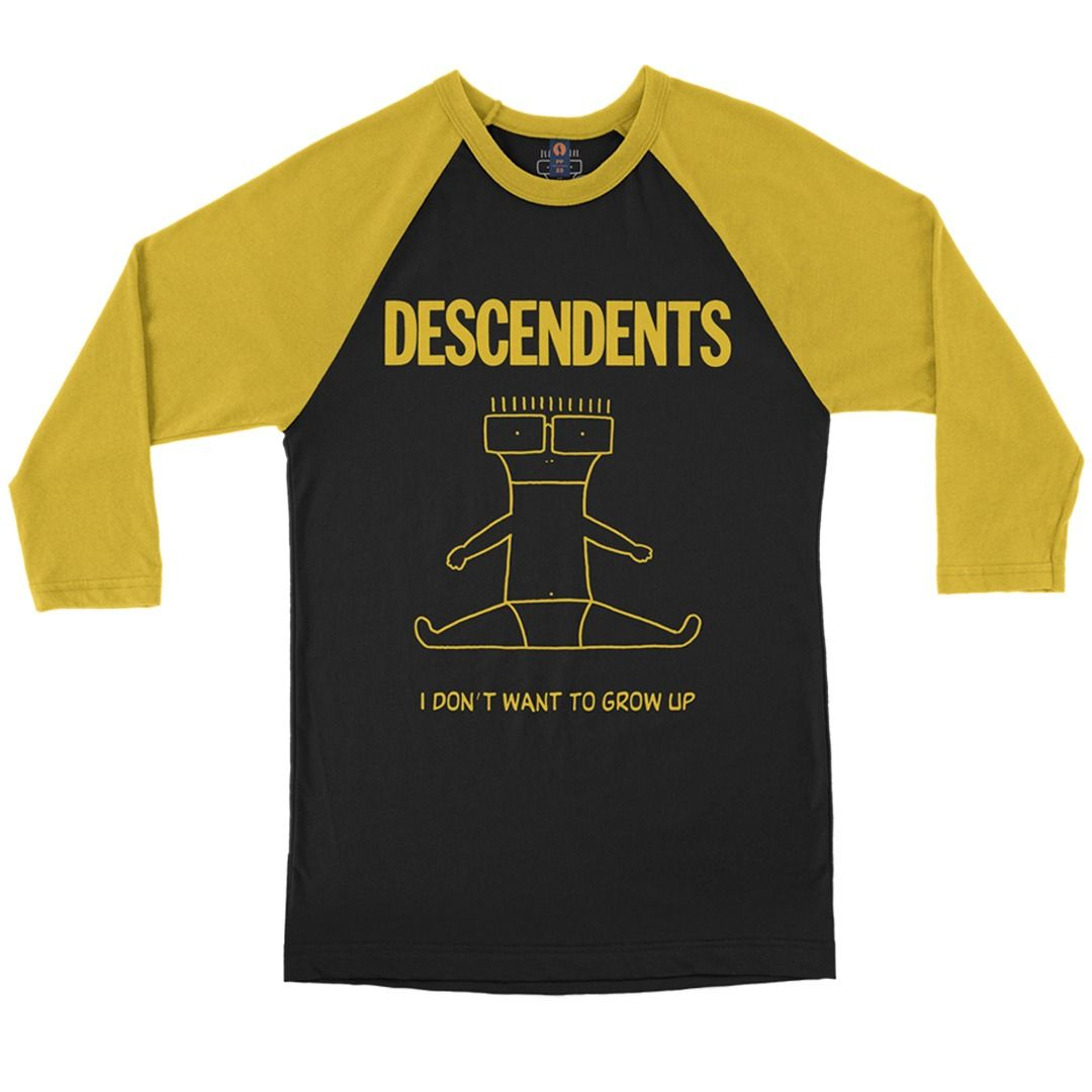 Descendents - I Don't Want To Grow Up [Raglan 3/4]
