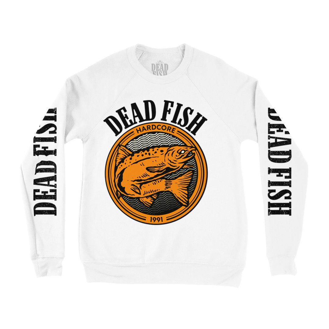 Dead Fish - Peixe 30 Anos [Suedine Crewneck Manga Longa]