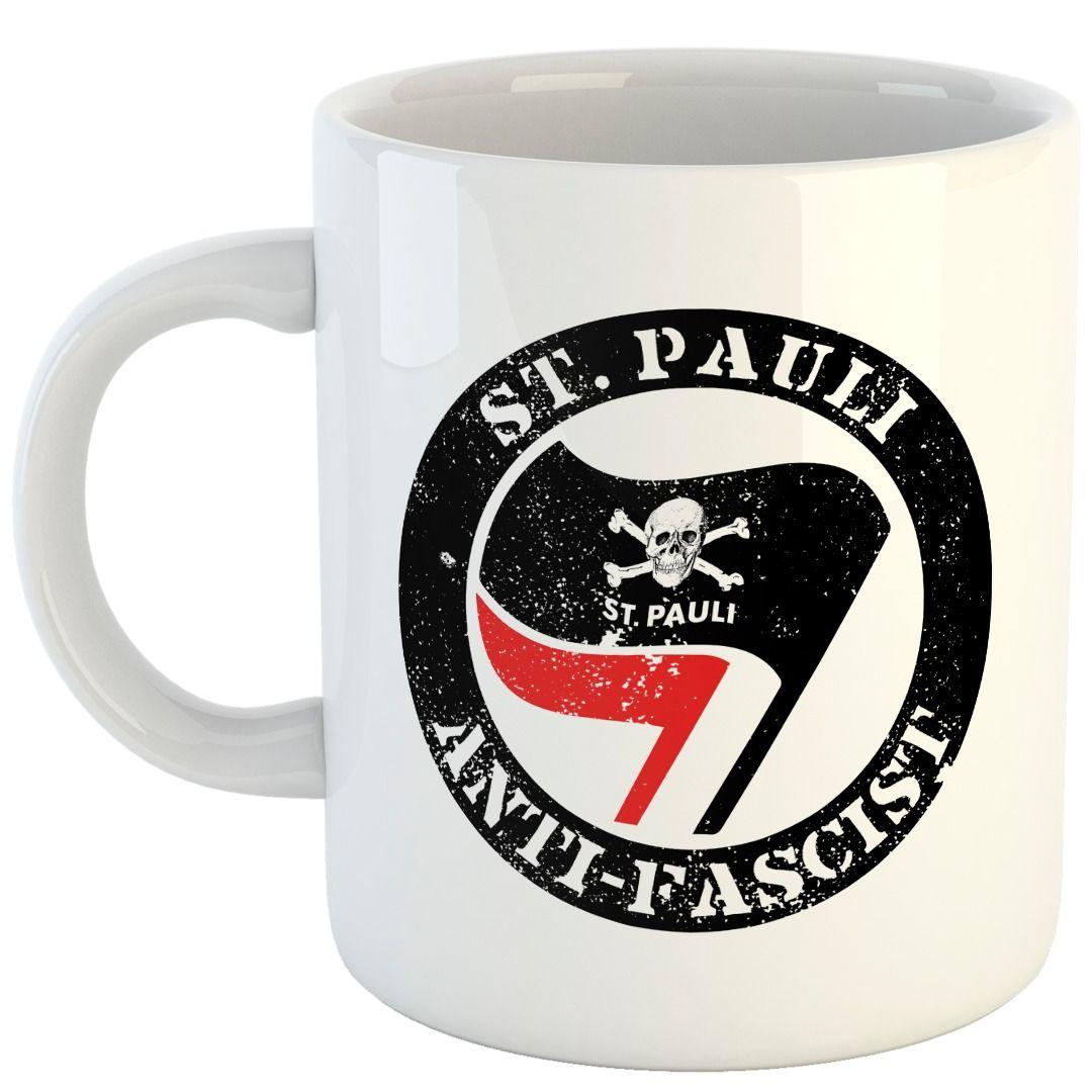 St. Pauli - Anti-Fascist [Caneca]