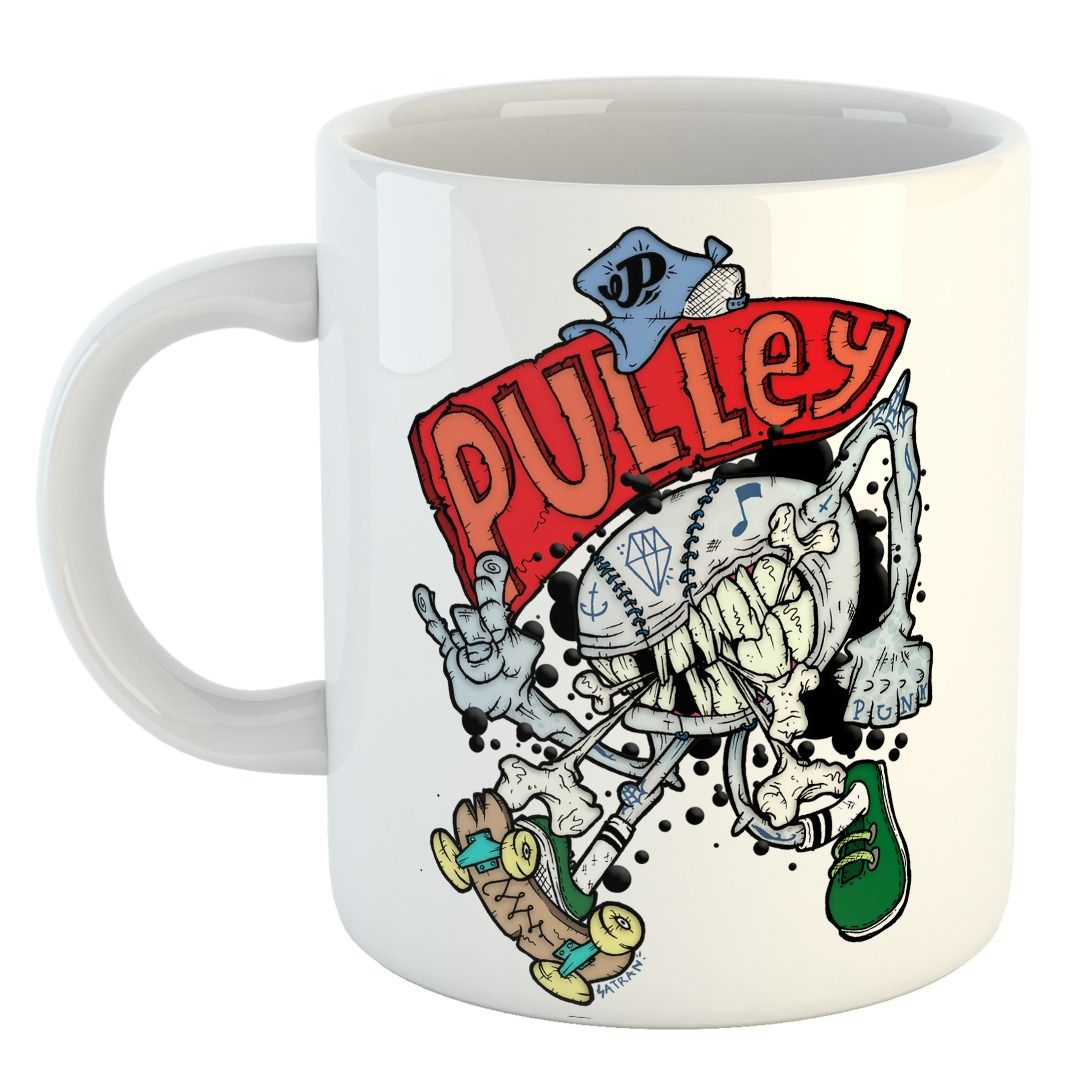 Pulley - Skate Punk [Caneca]