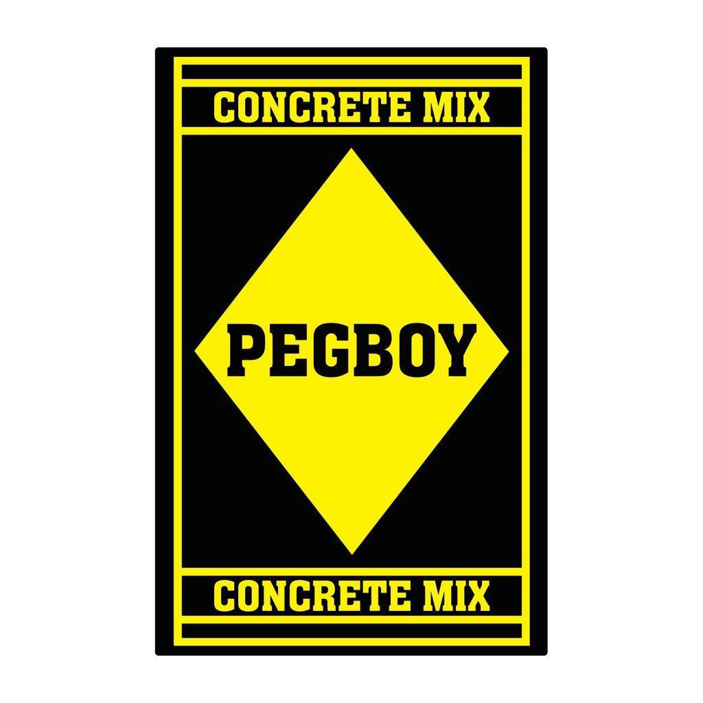 Pegboy - Concrete Mix [Adesivo]