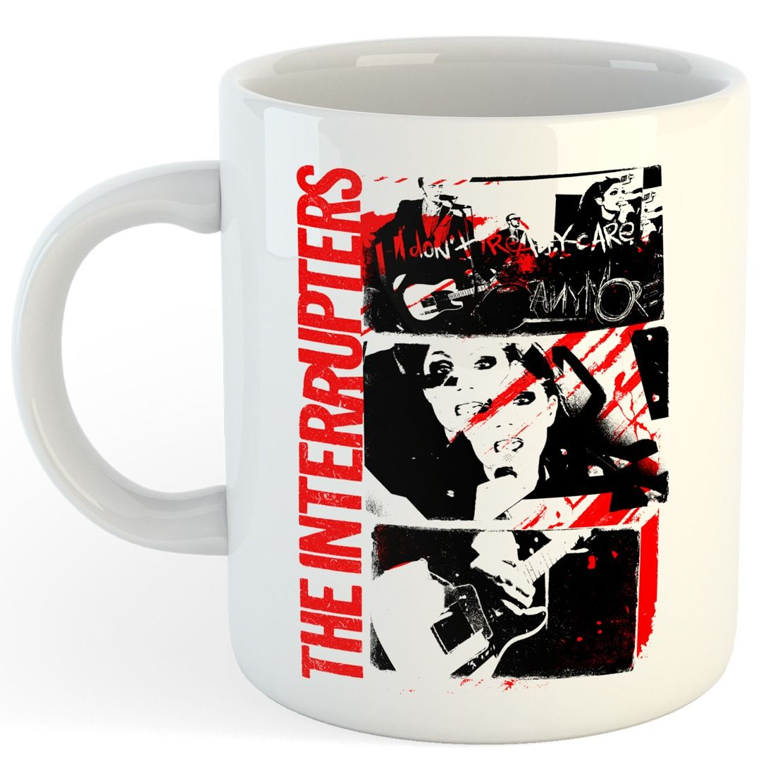 The Interrupters - Don't Care [Caneca]