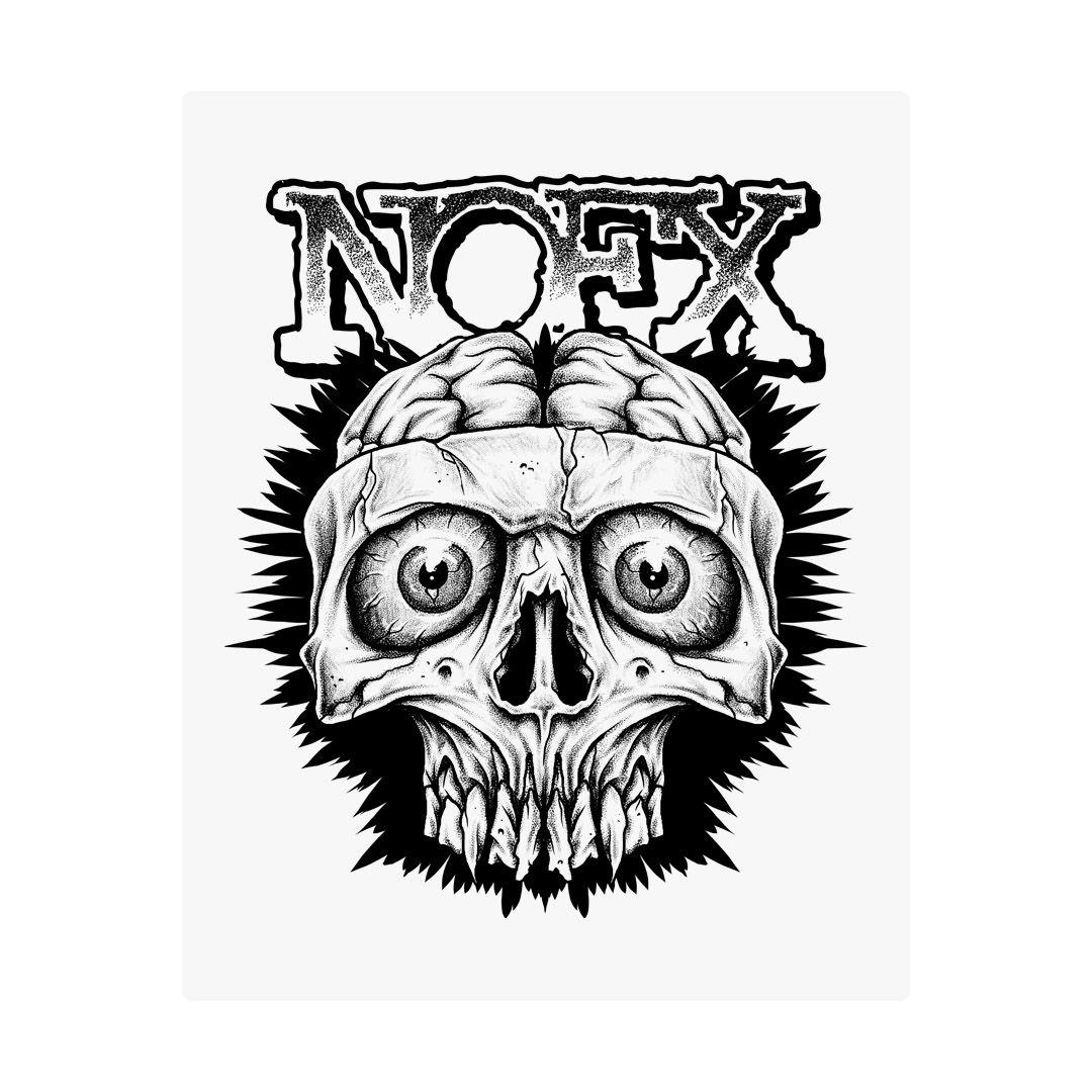 NOFX - Skull [Adesivo]