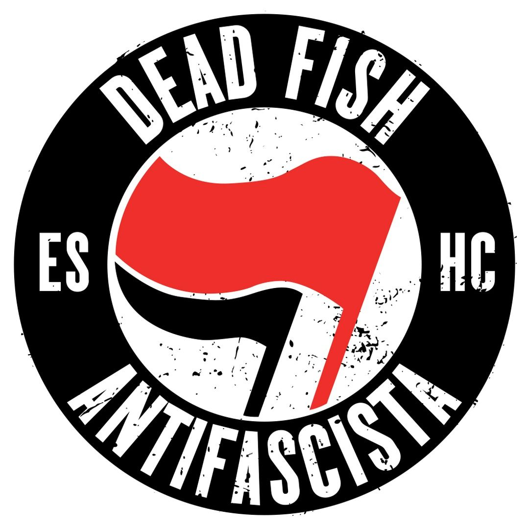 Dead Fish - Antifa [Adesivo]