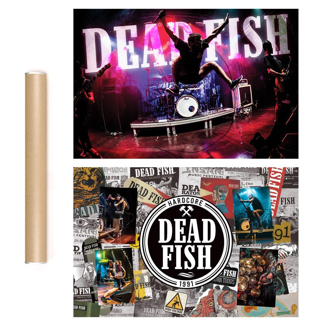Dead Fish - 30 Anos [Pôster c/ Tubo]