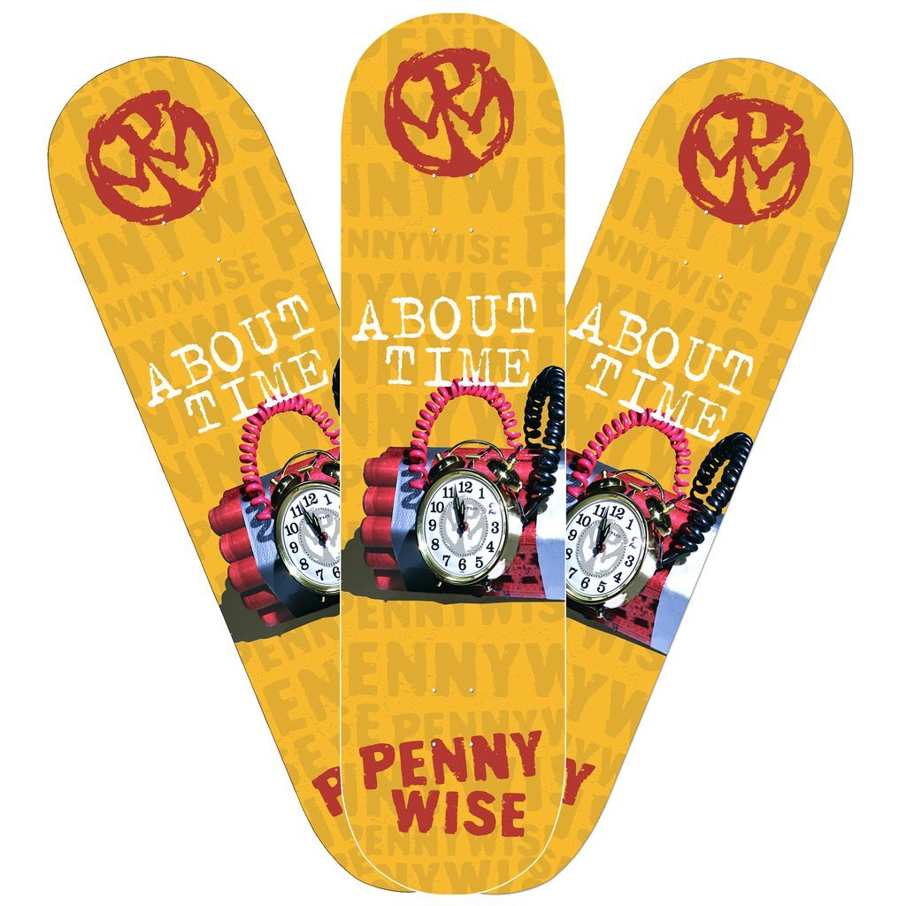 Pennywise - About Time [Skateboard]