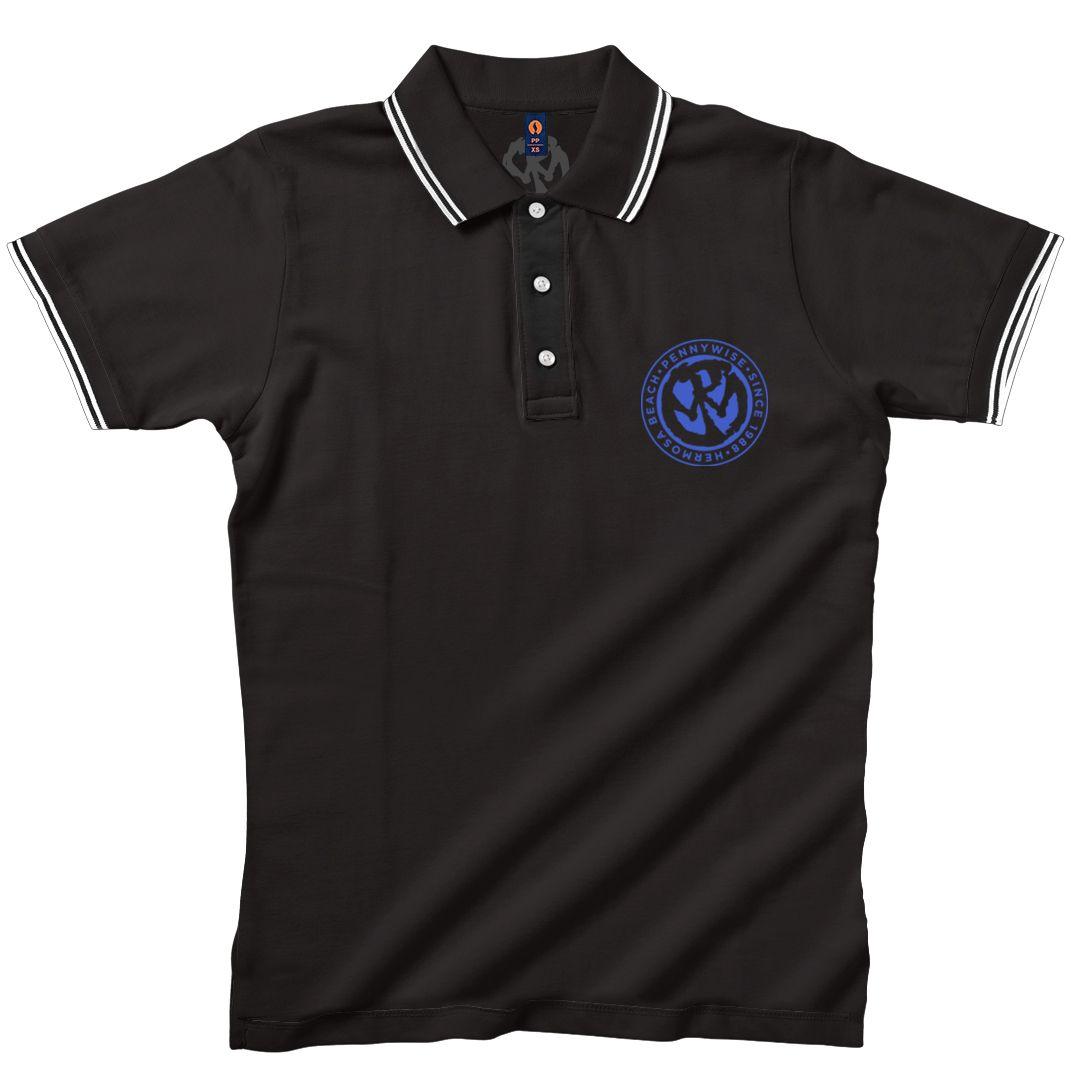 Pennywise - Blue Logo [Camisa Pólo]