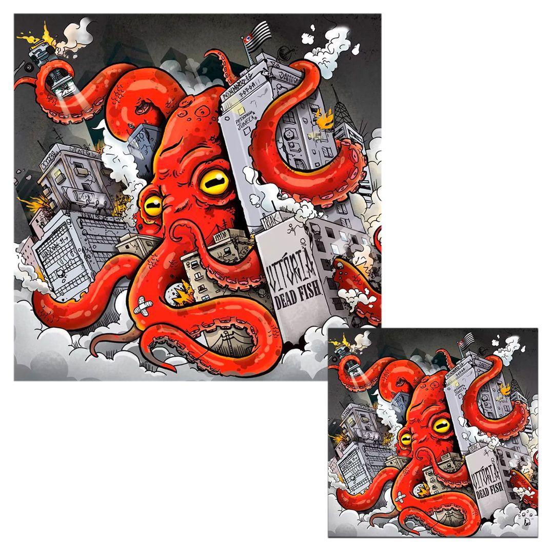 Combo: Dead Fish CD + LP Preto
