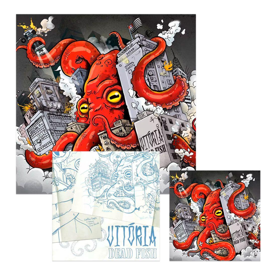 Combo: Dead Fish - Vitória LP+CD+EP