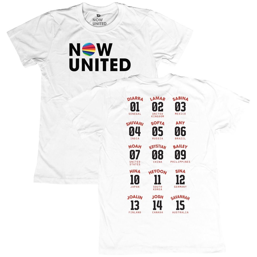 Now United - Classic Logo [Camiseta Branca]