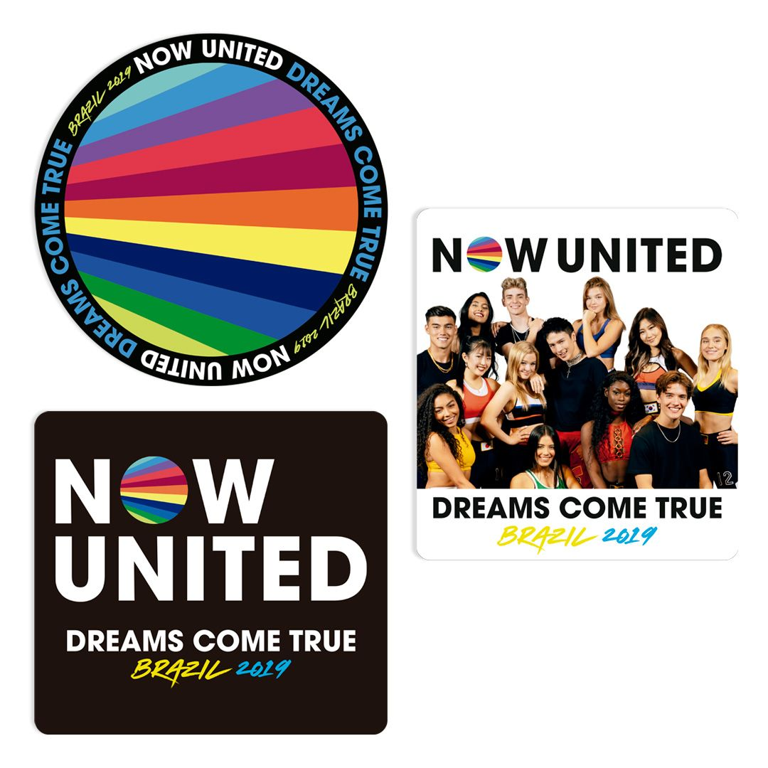 Now United - Sticker Pack [Adesivos]