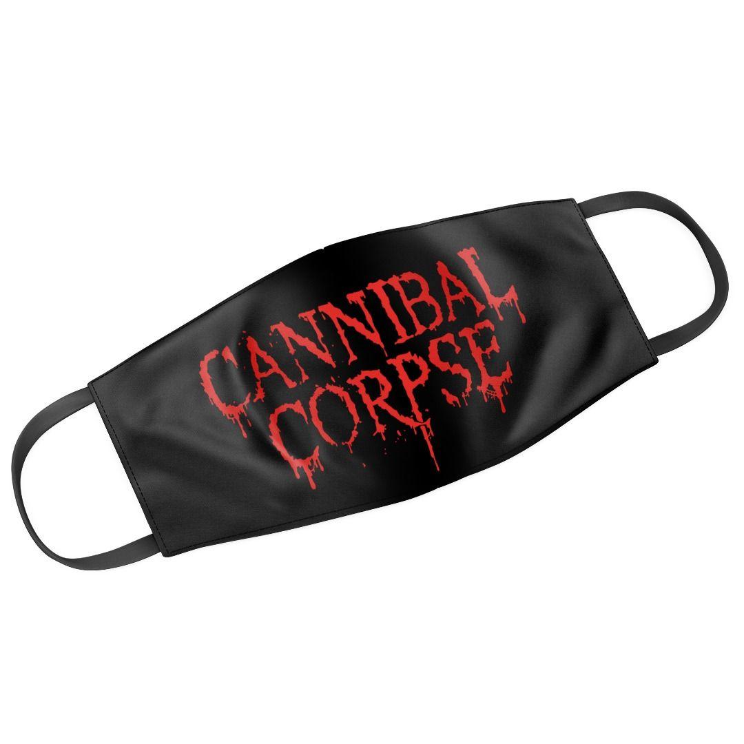 Cannibal Corpse - Logo [Máscara Reutilizável]