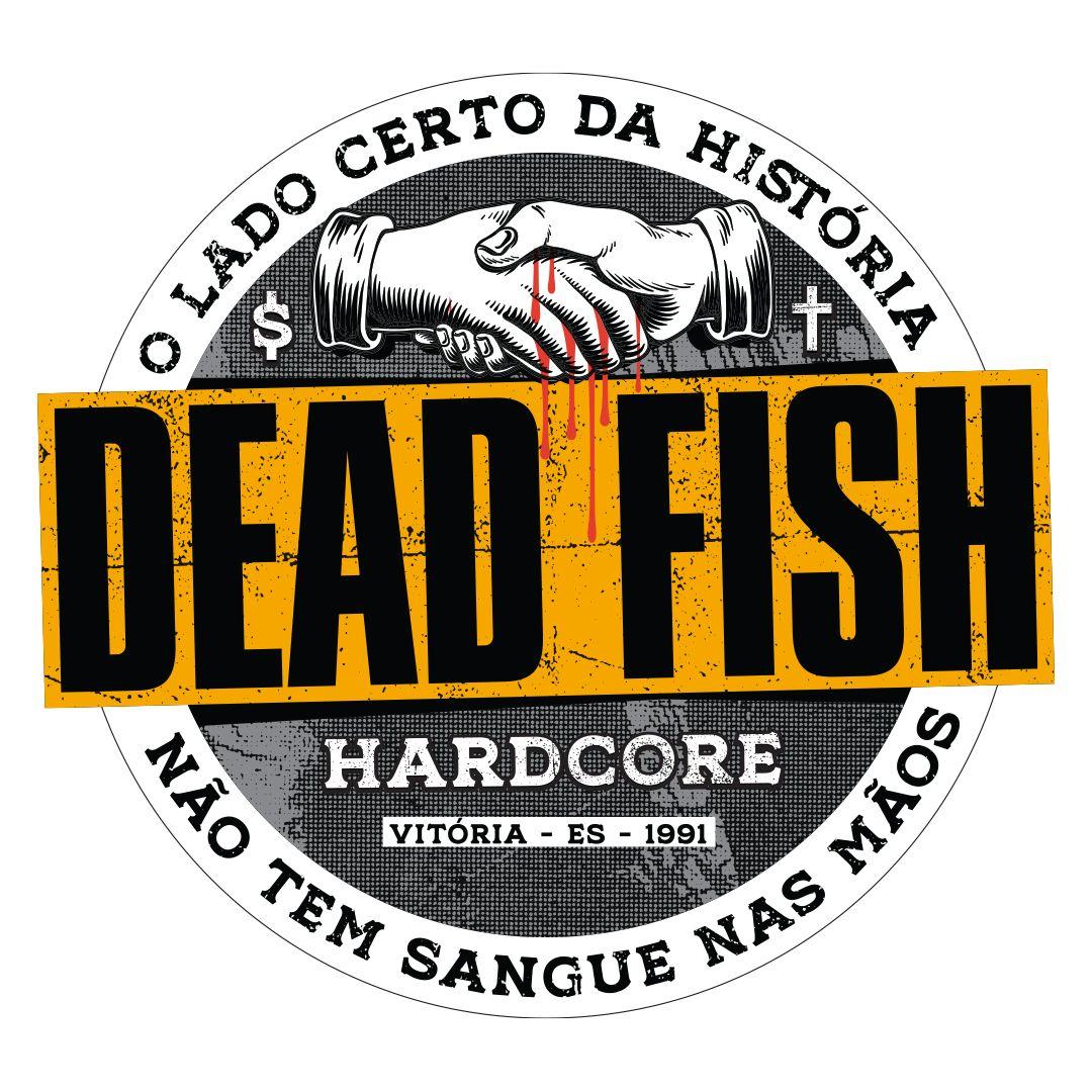 Dead Fish - Sangue Nas Mãos [Adesivo]