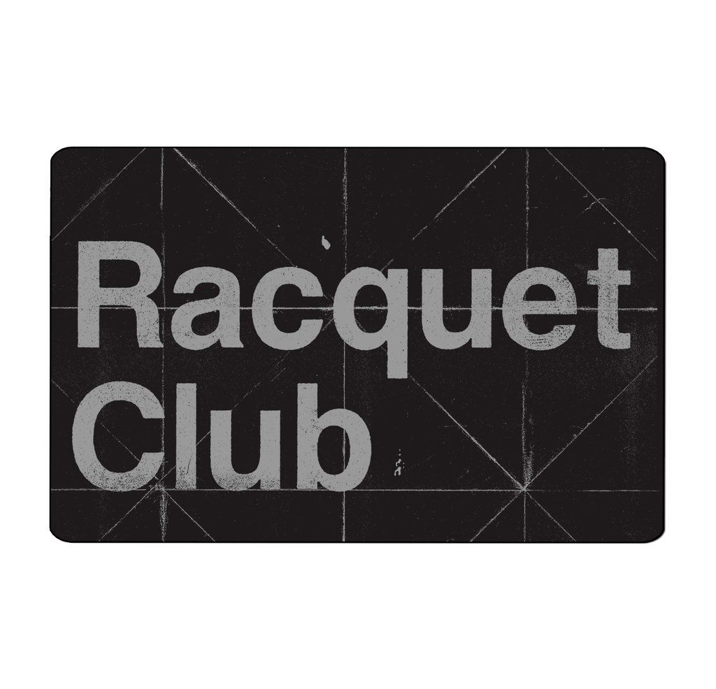 Racquet Club - Folds [Adesivo]