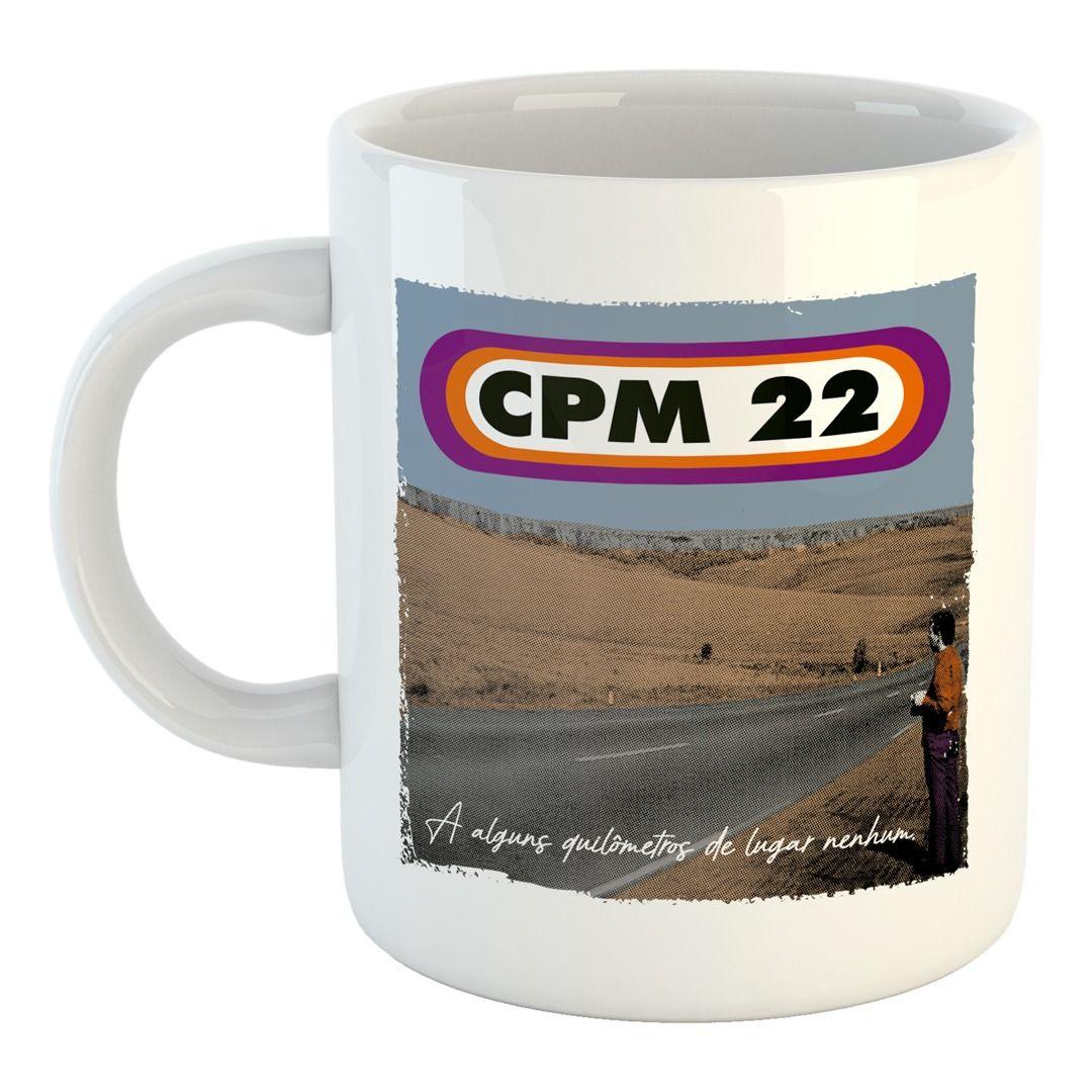 CPM 22 - A Alguns Quilômetros de Lugar Nenhum [Caneca]