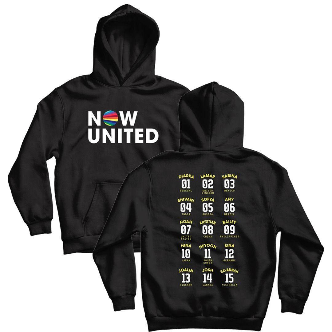 Now United - Classic Logo [Soft Hoodie Preto]