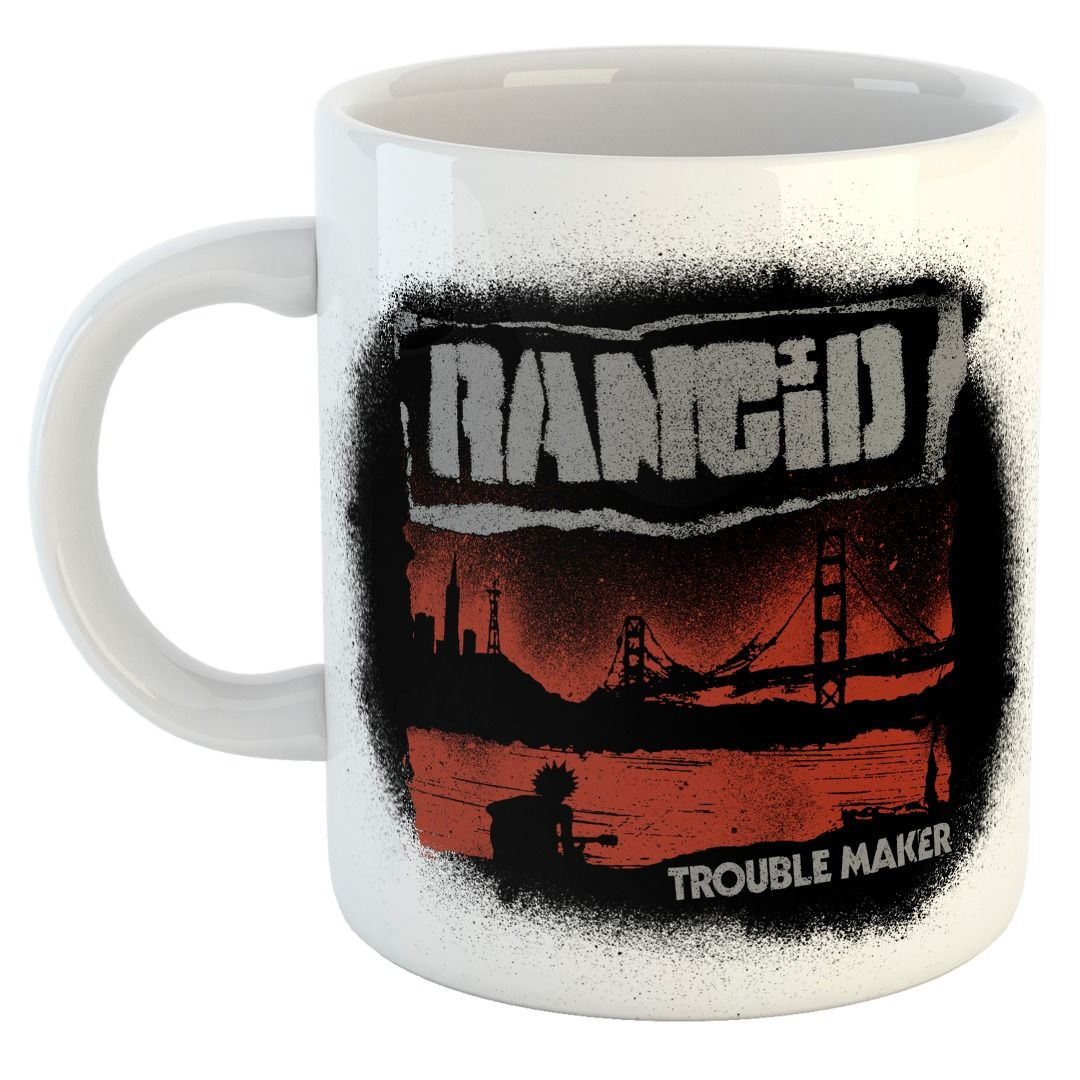 Rancid - Trouble Maker Cover [Caneca]