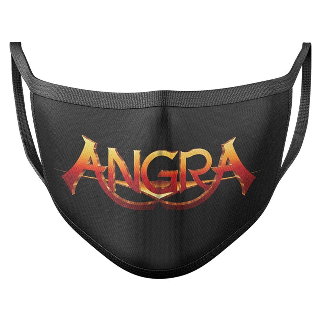 Angra - Logo Grande [Máscara Reutilizável]