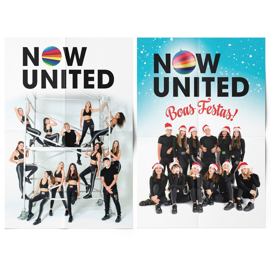 Now United - United Christmas [Pôster sem Tubo]