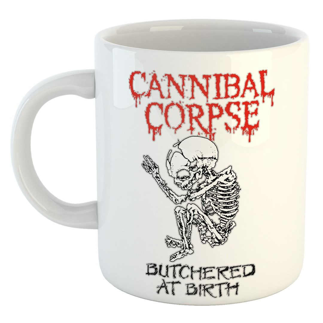 Cannibal Corpse - Butchered at Birth [Caneca]