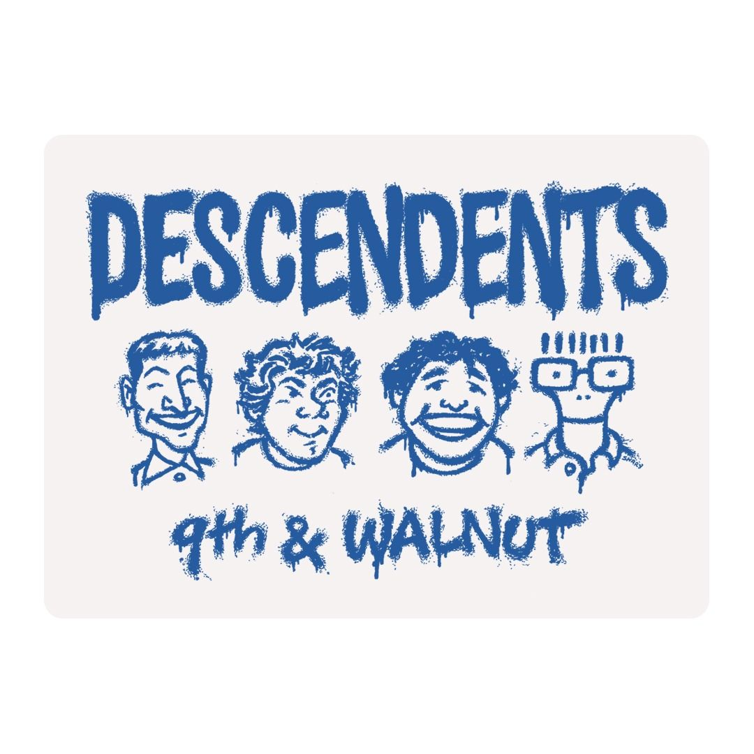 Descendents - 9th and Walnut [Adesivo]