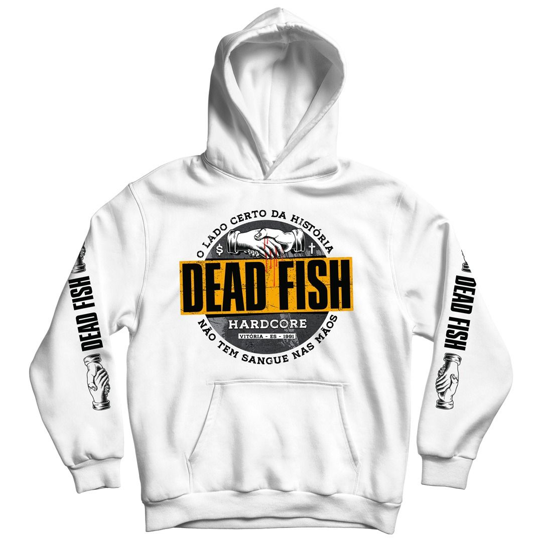Dead Fish - Sangue Nas Mãos [Soft Hoodie]