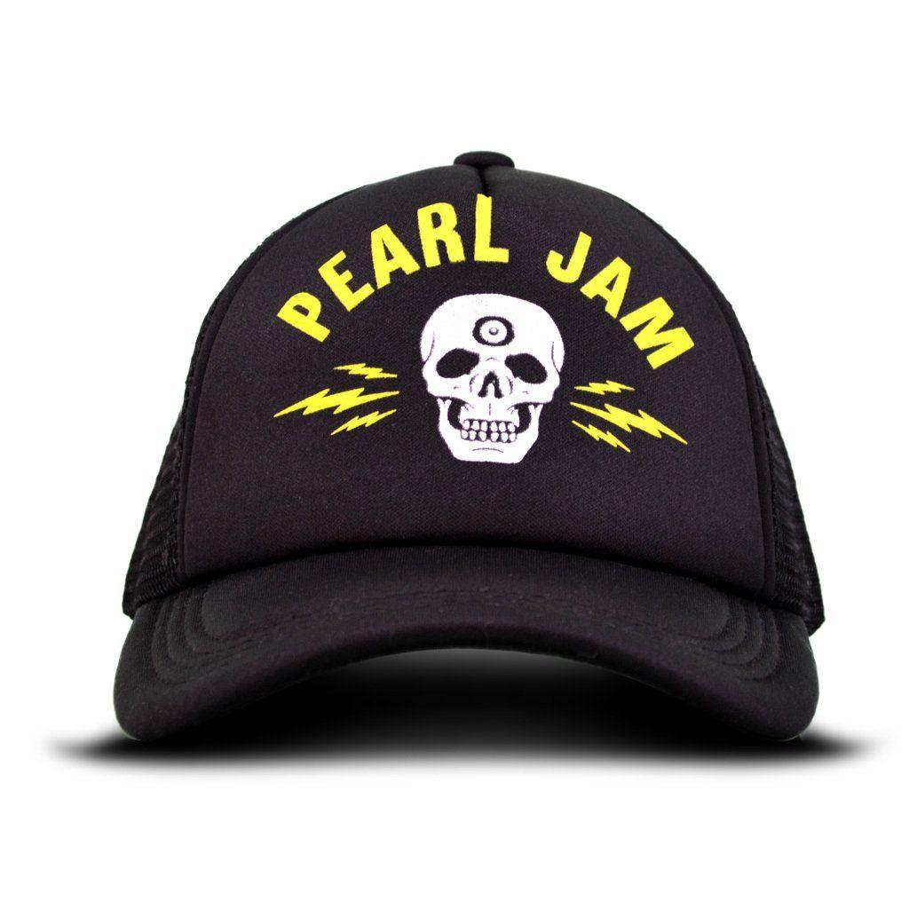 Pearl Jam - Electric Skull [Boné Importado]