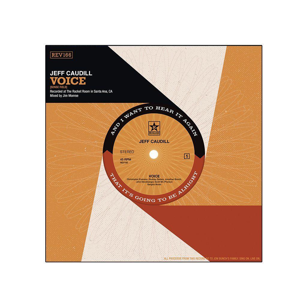 "Jeff Caudill - Voice + Wishing Well 7"" [EP Colorido]"