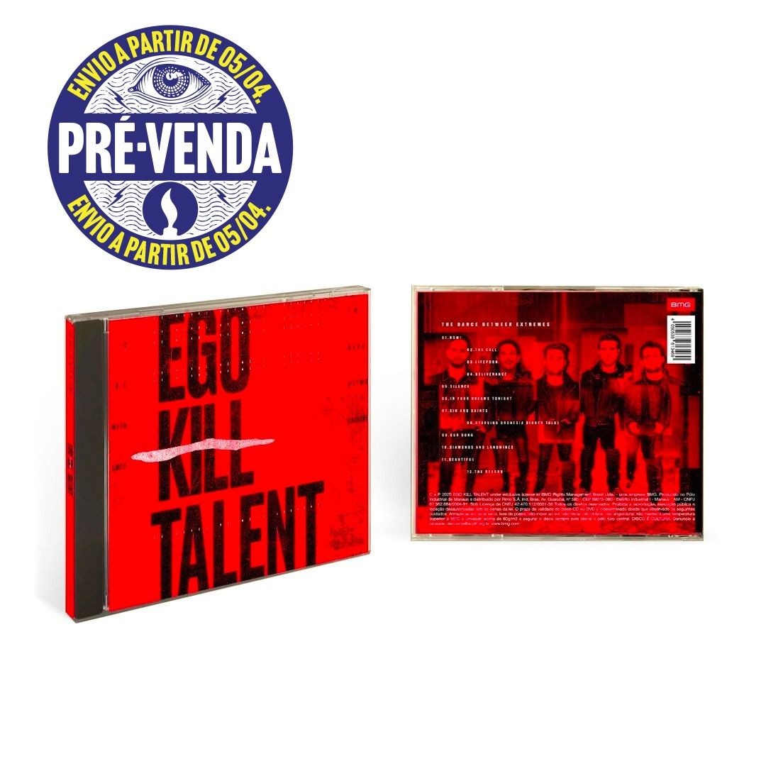 Ego Kill Talent - The Dance Between Extremes [PRÉ VENDA] [CD]