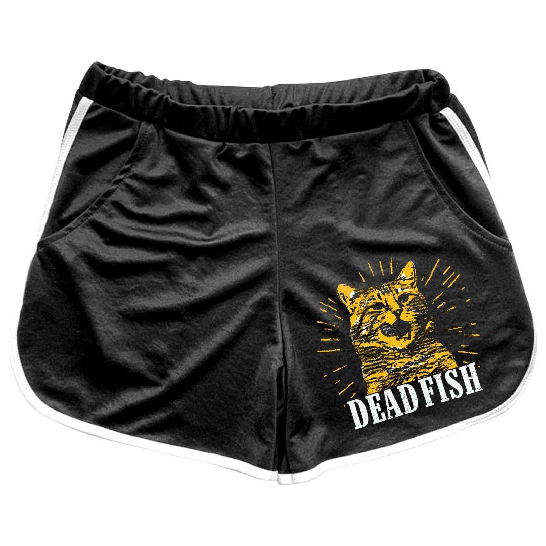 Dead Fish - O Gato [Shorts Feminino]