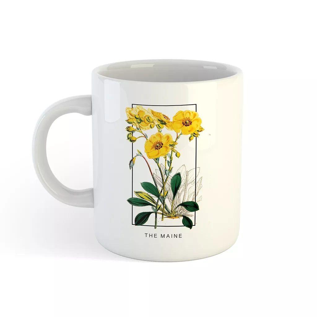 The Maine - Flower Mirror [Caneca]