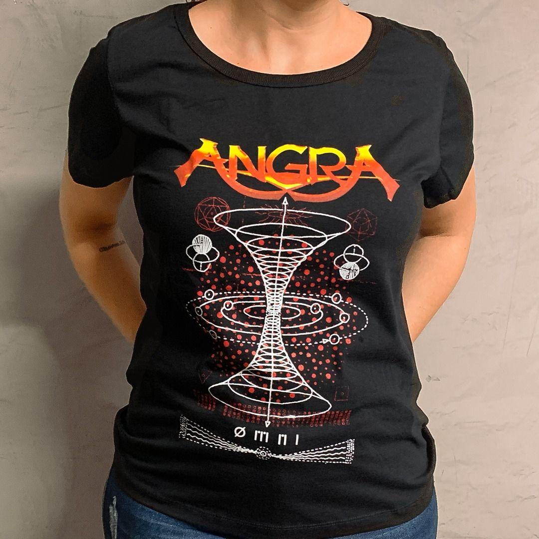 Angra - Hole [Camiseta Feminina]