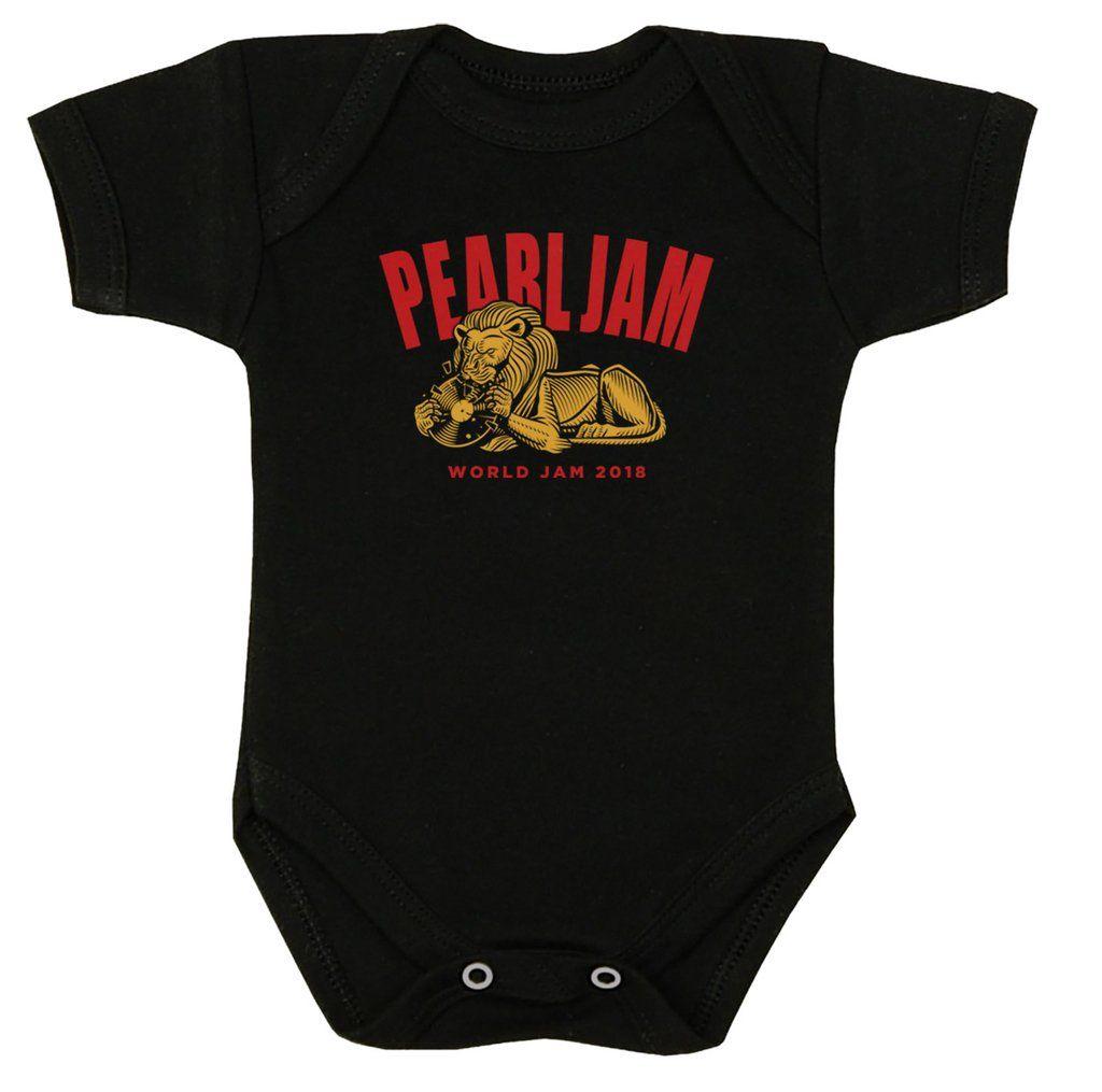 Pearl Jam - Baby Onesie [Body] Tamanho Único