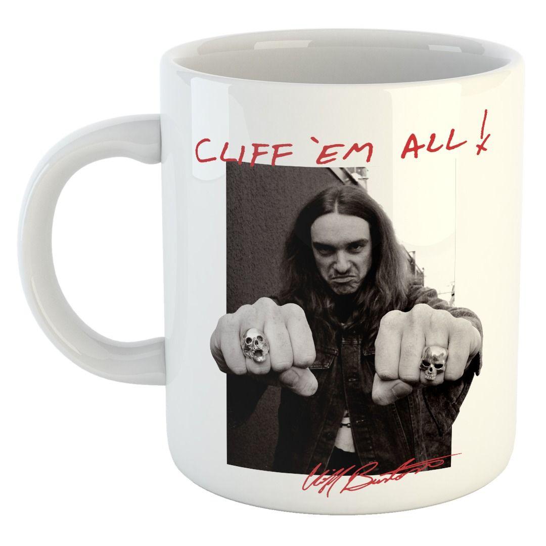 Cliff Burton - Fists [Caneca]