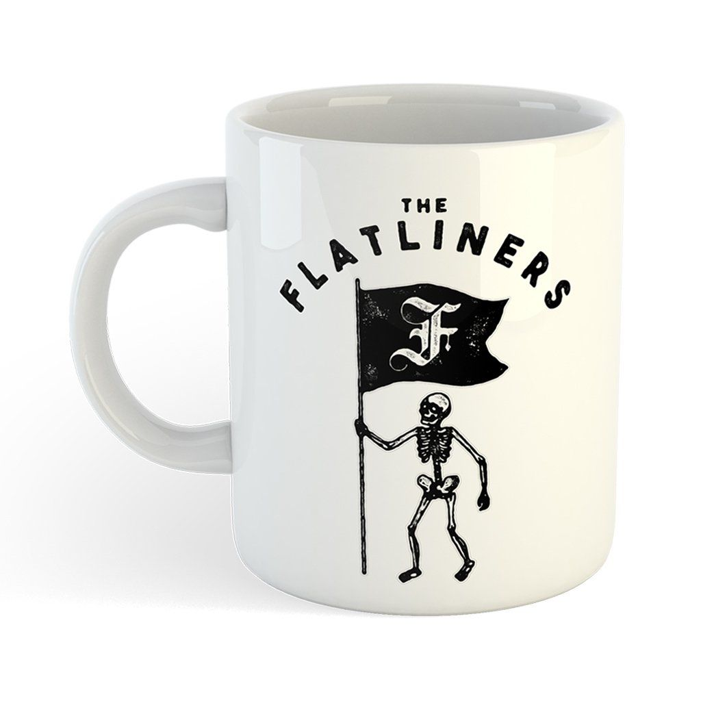 The Flatliners - Skeleton Flag [Caneca]