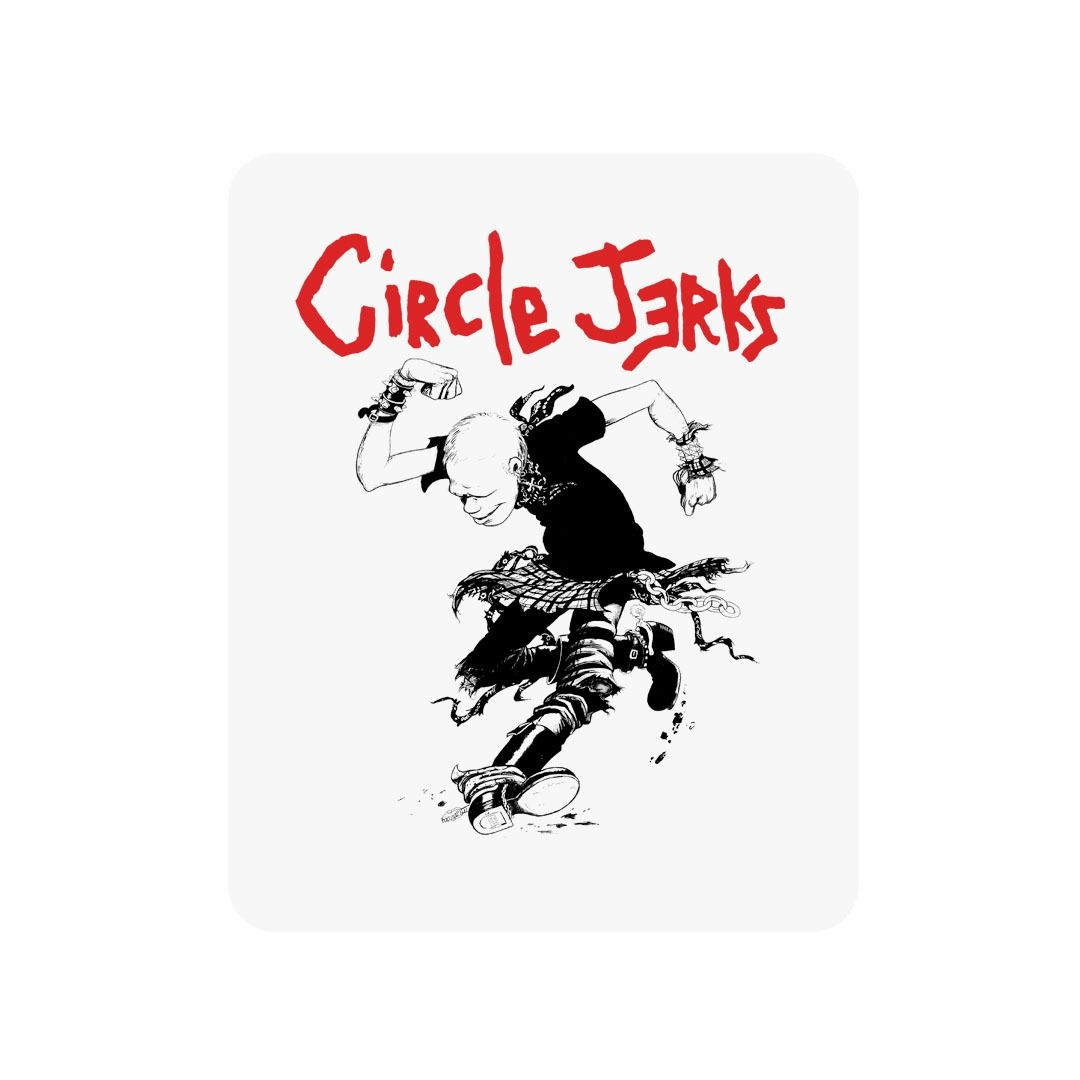 Circle Jerks - Skank Man [Adesivo]