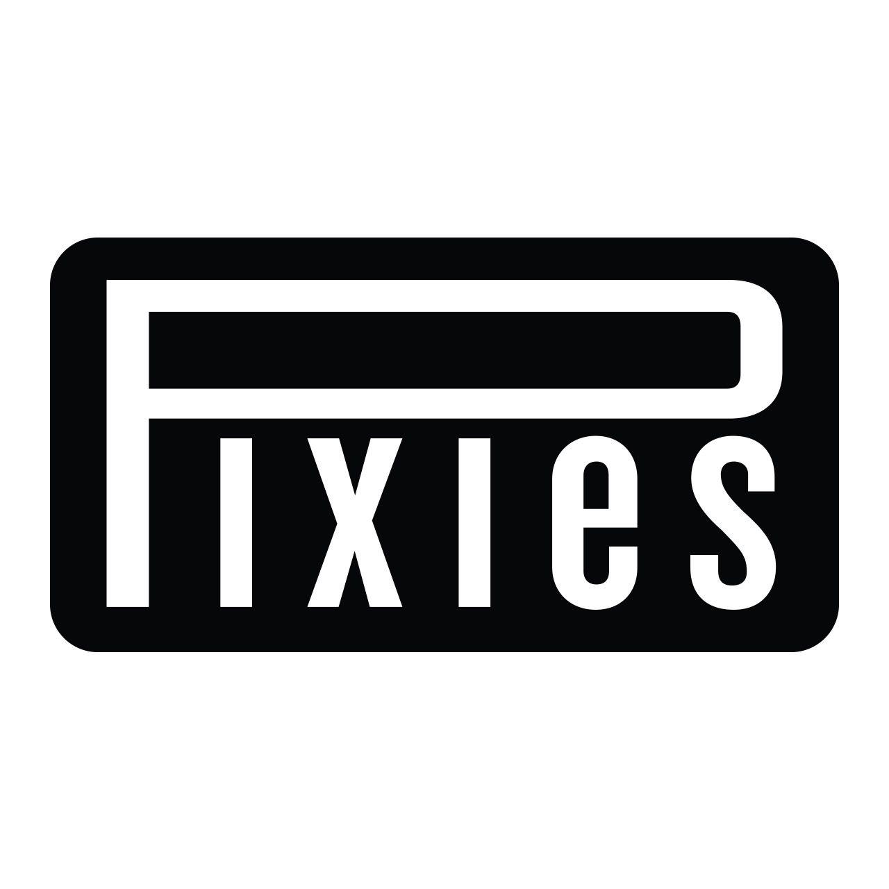 Pixies - Logo [Branco]